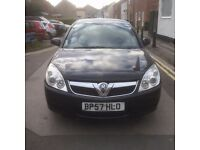 2008 ( 57 ) VAUXHALL VECTRA EXCLUSIVE 1.9 CDTi 120 BLACK VERY LOW MILES ONLY 71K CAM BELT&WATER PUMP