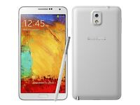 Samsung Galaxy Note 3 32GB Unlocked in Good Condition with extra cases