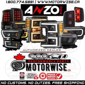 Anzo Lighting | Headlights | Tail Lights & More | Free Shipping Canada Wide | Browse & Order at www.motorwise.ca