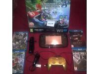 Wii U Mario kart Premium Edition Bundle