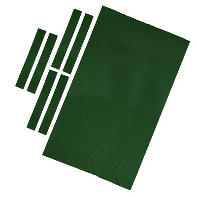 Professional Billiard Pool Table Cloth 9ft Pool Table Felt Accessories Green