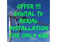 Aerial & Satellite Installs + repairs, Tv Wall Mounting
