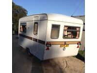 13ft Eccles moonster caravan