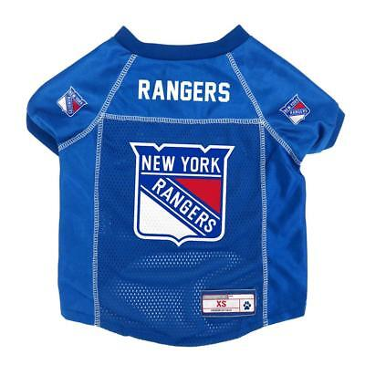 New York Rangers Extra Small Pet Jersey [NEW] NHL Dog Puppy Shirt Clothes