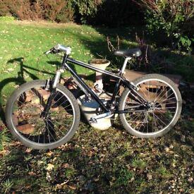 """Mongoose Tange mountain bike, 16"""" frame in black. 26"""""""