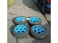 punto alloy wheels