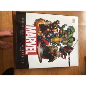 Marvel hard back book