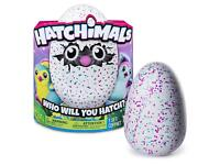 Brand new Hatchimals purple, teal and green