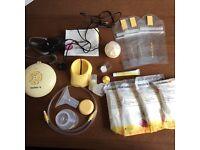 Madela swing essentials pack