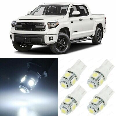 18 x Xenon White Interior LED Lights Package For 2007   2019 Toyota Tundra TOOL