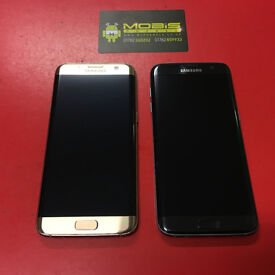 SAMSUNG S7 EDGE SIMFREE IN GOLD,ROSEGOLD,GREY COMES WITH CHRGER AND THREE MONTHS WARRANTY