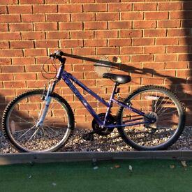 Purple 24 Inch bike