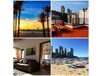 BENIDORM PENTHOUSE IN ENGLISH AREA FOR HOLIDAY (Rincon de loix)