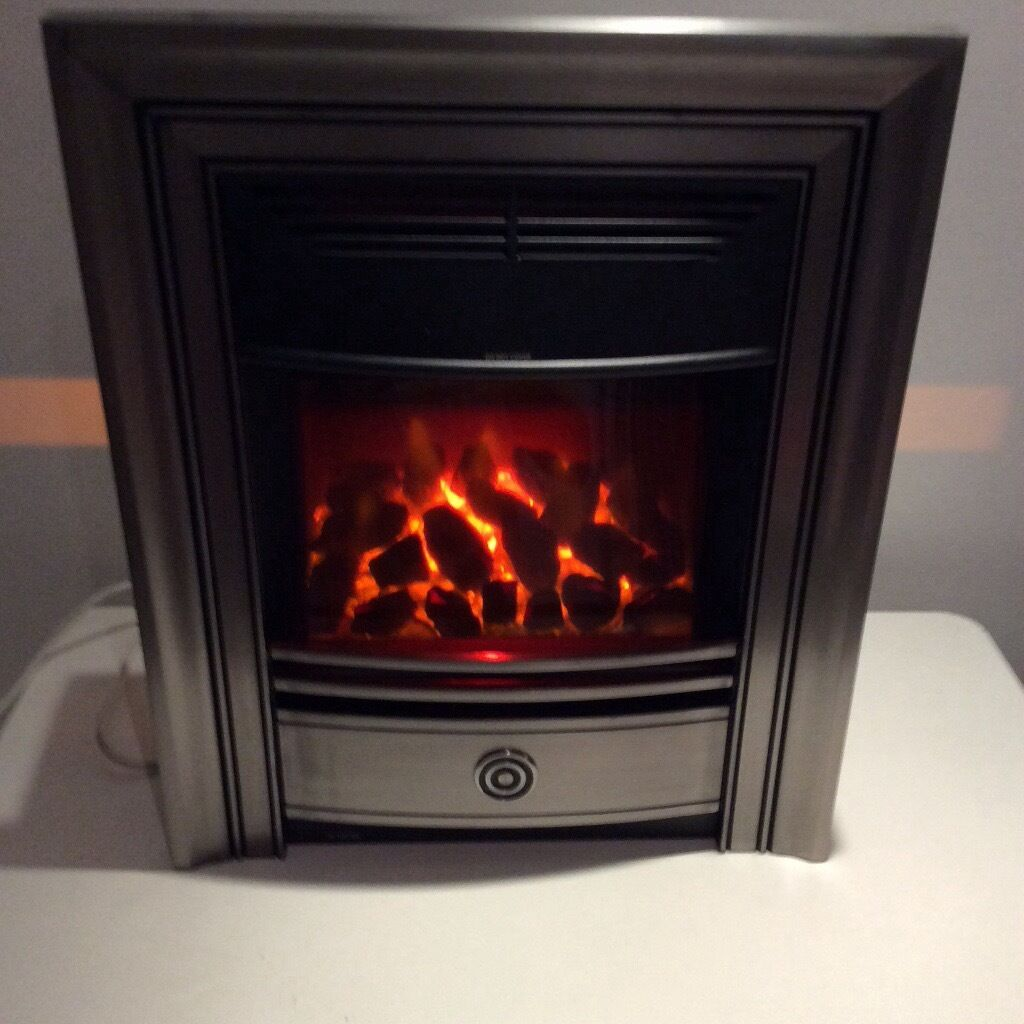 new valor electric fire dimension classica pewter in leicester