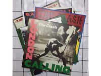 RARE The Clash 5 Studio Album LP SetBox with x8 Vinyl Record UK