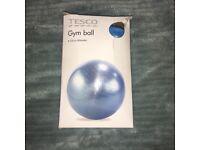 New gym ball