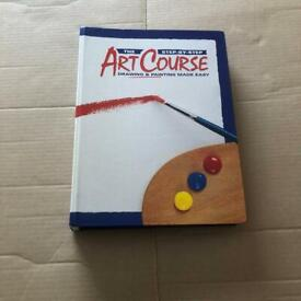 Step by step art course magazines