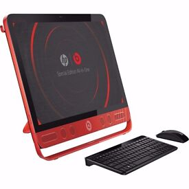 HP ENVY Beats All-in-One PC (Model No. 23-n001na) (Colour-Black & Red)