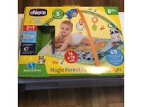 Chicco baby play gym2 in 1 relax and play almost new in immaculate condition (hardly used) £ 25