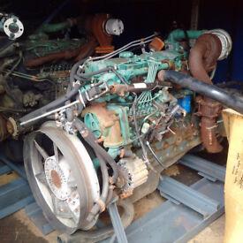 VOLVO TD61 6 cylinder diesel engine and gearbox for VOLVO FL6 truck.