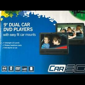 Nextbase Car 9D DVD players with mounts