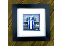 Chester City FC home shirt 3D mini kit.