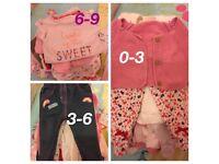 Baby girl clothes bundles