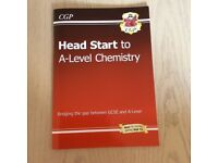 Head Start to A Level Chemistry CGP Textbook