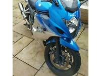 Gsx650f 2010 10000miles,new tyres, custom exhaust serious buyers please