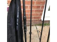 2 x Carp Rods, 50mm, 3lbTC
