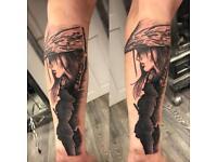 Tattoo artist position available
