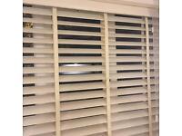 Slatted blinds