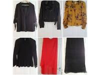 Assorted clothing 5.00 per item.