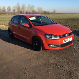 2009/59 VW Polo Moda 60, 1.2, 5 Door, Orange.