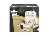 New in Box Tommee Tippee Closer to Nature Complete Baby Feeding Set in White