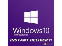 Windows 10 Pro Professional - License Key