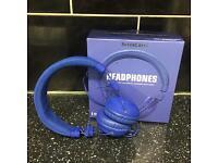 Like new Silver Crest Headphones in purple