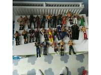 WWE Rings and Figures