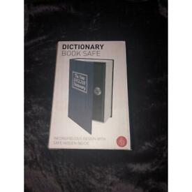 Safe disguised as a dictionary