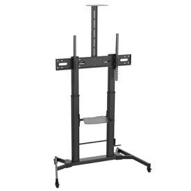 XL TV Floor Stand with Quick Height Adjust, 60-100″ TVs RRP £245 SALE £100!
