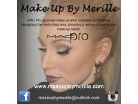 MAC Pro Professional Makeup Artist North East Mobile - Bridal Make-Up Artist Make Up