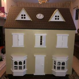 Refurbished doll house with extra study room
