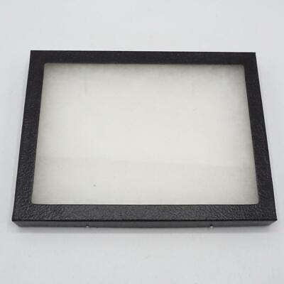 Flat Glass Top Display Case Specimen Mount Jewelry Medals Smalls 6x8