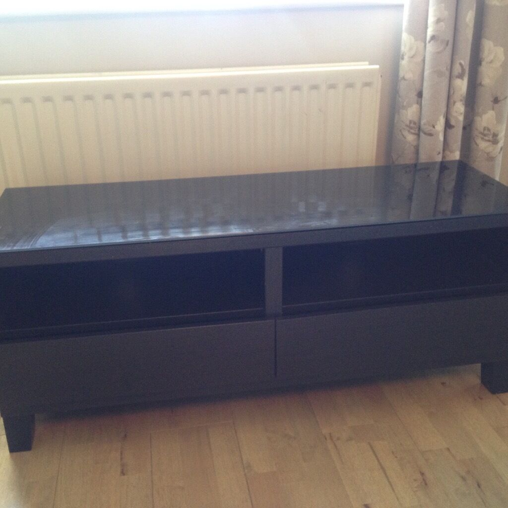 Ikea Besta Burs Tv Unit Bench High Gloss | Best Quality Television