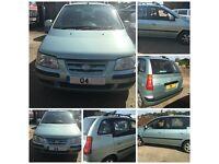 Hyundai Matrix CDX 2004 1.8 Silver Manual Petrol (Front Bumper) All Parts Available