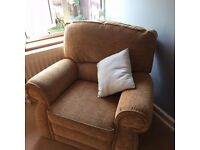Reclining arm chair, comfortable, excellent condition, from pet-free and non-smoking household