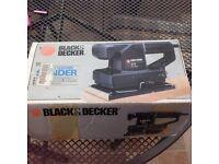 Black n decker electric sander