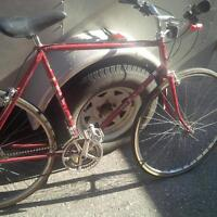 fuji vintage commuter road bike