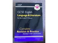GCSE English language and literature complete revision and practice