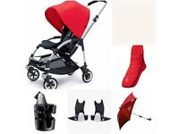 Bugaboo bee 3 with LOTS of extras
